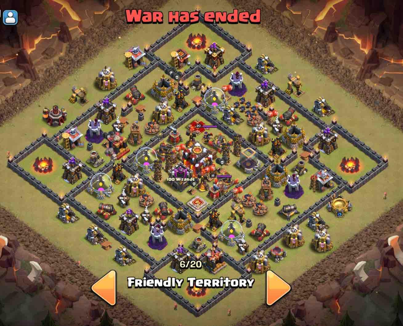 Base Coc Th 12 Untuk War 2