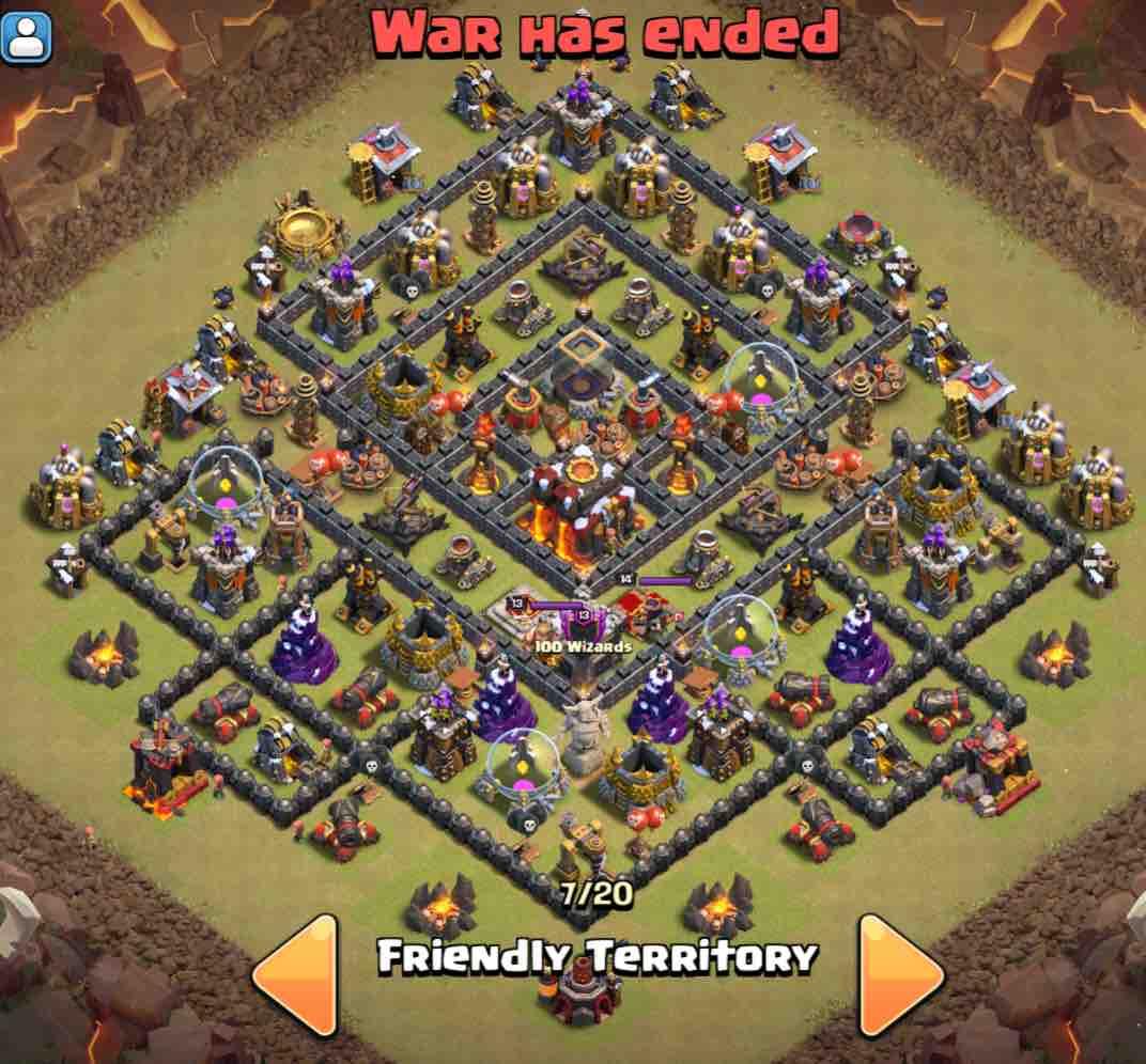 Base Coc Th 10 War Terkuat 11