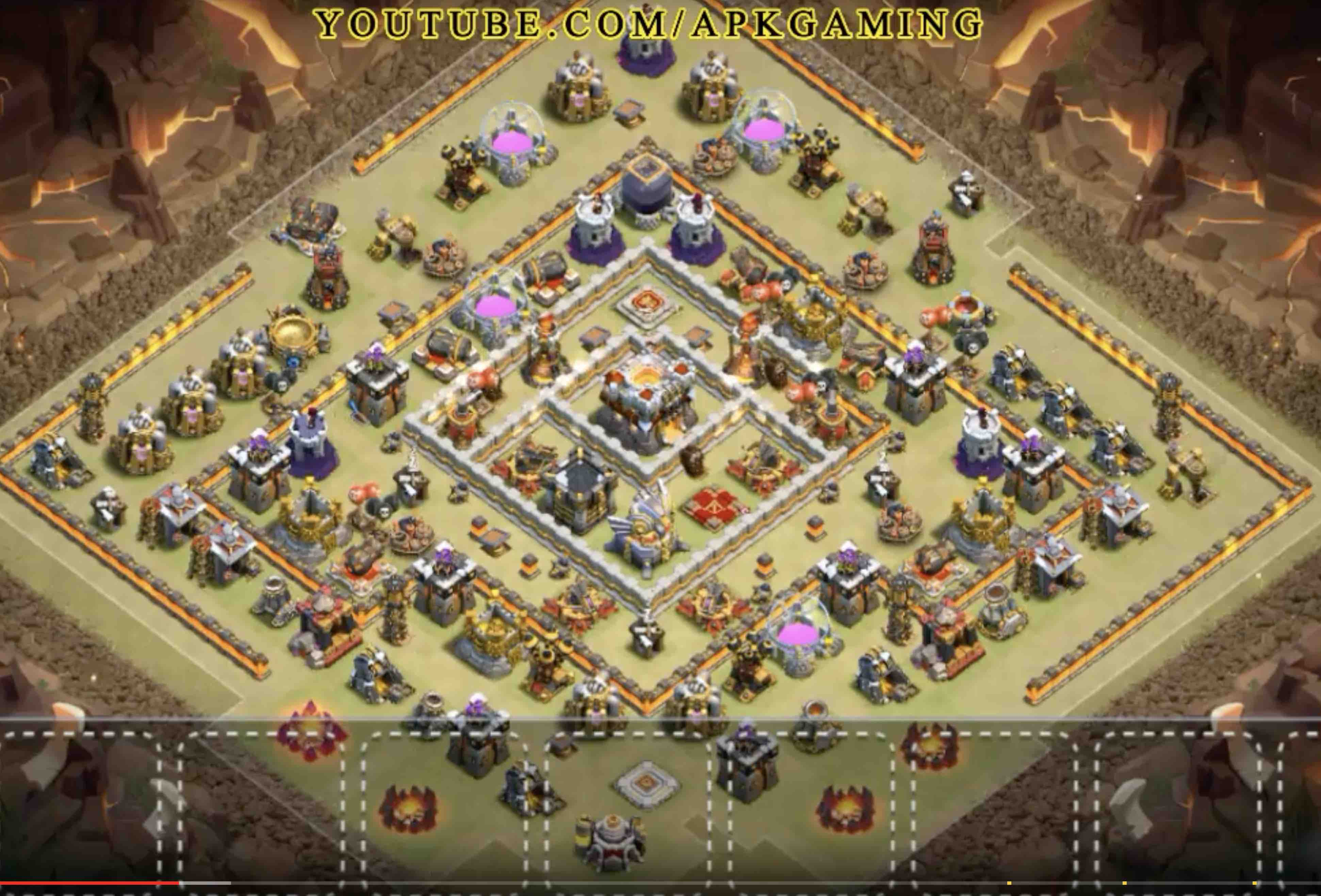 Base War Th 11 Legend 9