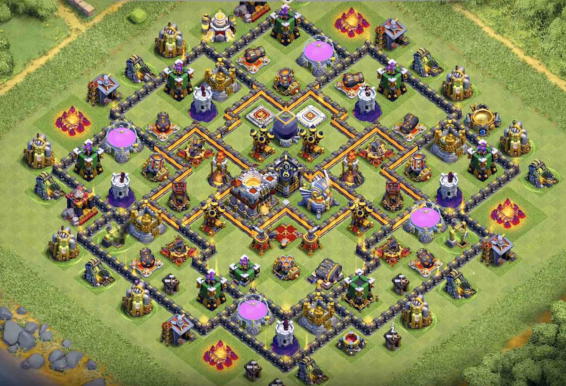 Base Coc Th 11 Terkuat Di Dunia 11